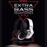 Head Phone Roker R9 Monster Extra Bass Headset / Ear Phone / Han