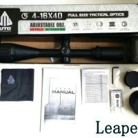 Telescope UTG 4-16x40 LEAPERS | Teleskop Senapan Limited Edition
