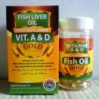 Jual Minyak Ikan / Fish Oil Gold Omega 3 Plus Murah