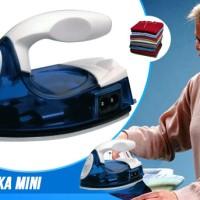 1 Kg 6 Pc Setrika Listrik Mini Iron Travel Baju Strika Laundry Celana