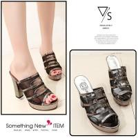 Sepatu Wanita Import Grosir Korea Fashion Shoes sandal heels 50540