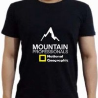 Jual KAOS BIG SIZE NATIONAL GEOGRAPHIC MOUNTAIN PROFESSIONALS(XXXL-XXXXL) Murah
