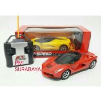 Mainan Anak - Rc Top Speed Car Ferrari Skala 1:24