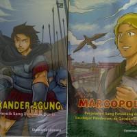 Komik Biografi Pahlawan Dunia, Alexander Agung, Marcopolo
