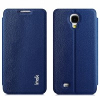 Imak Flip Leather Cover Case Series for Samsung Galaxy J N075T - Blue
