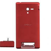 Sony Xperia ZL Back Cover - Cover Belakang - RED - MERAH