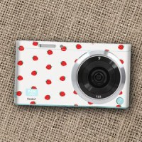 Garskin Camera Mirrorless Samsung Nx Mini - Strawberry