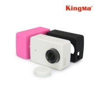 Jual Silicone / Silicon Rubber Case with Lens Cap for Xiaomi Yi 2 4k Murah