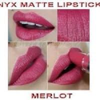NYX matte lipstick MLS16 merlot