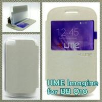 UME classic series Blackberry bb q10 flip case cover sarung casing