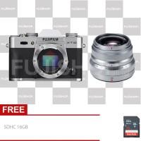 Fujifilm X-T10 Kit XF 35mm F2 - Silver