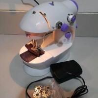 Jual Mesin Jahit Mini Portable Gt-202/fhsm-202 New Ada Lampumya Murah