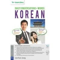 """BELAJAR BAHASA KOREA """"DAILY CONVERSATIONS+WORDS KOREAN & CD AUDIO """""""