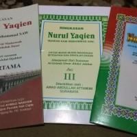 Ringkasan Nurul Yaqien; Yaqin; Sejarah Nabi Muhammad SAW (3 Jilid)