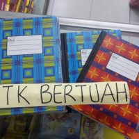 BUKU HARD COVER SAMPUL KERAS KWARTO QUARTO RIA 100