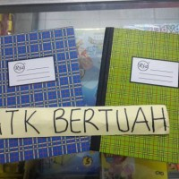 BUKU HARD COVER SAMPUL KERAS KWARTO QUARTO RIA 200