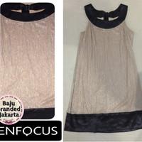 harga Baju Branded Murah Enfocus Glittery Maternity Dress Hamil Branded Ori Tokopedia.com