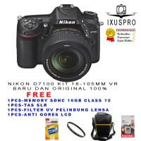 Nikon D7100 Kit 18-140 VR / Kamera Nikon D 7100 + Lensa 18-140