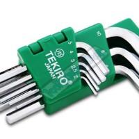 Kunci L Pendek / Hex Key Short Key 8pcs Tekiro