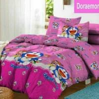 harga Sprei Katun Fortuna Doraemon Smile Pink Ukuran 180x200 Tokopedia.com