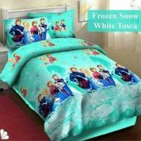 harga Sprei Katun Fortuna Frozen Snow White Tosca Ukuran 160x200 Tokopedia.com
