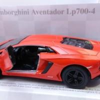 Die Cast Kinsmart Lamborghini Aventador Lp700-4 ORANGE
