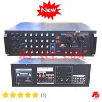 Power Amplifier Atl Karaoke 8 Input Mic Echo Mixer 3s