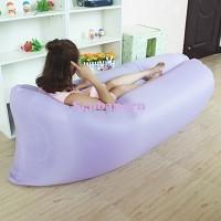 Jual Inflatable LazyBag/Laybag For Outdoor/Indoor - LIGHT PURPLE Murah
