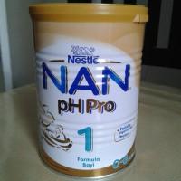 harga susu nestle nan ph pro 1 usia 0-6 bulan 400 gram Tokopedia.com