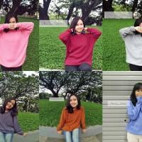 Jual Premium loose sweater / Sweater rajut wanita Murah