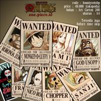 Bounty Poster One Piece