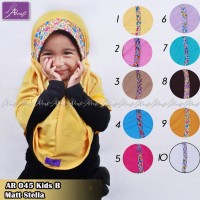 AR 045 Kids Hijab Ar Rafi - Arrafi - Kerudung Anak - Jilbab Anak