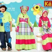 Baju Muslim Keke Gamis Anak Katun GM 317 / Koko Anak KK 331