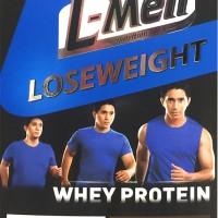 Susu LMen Loseweight L-men Whey Protein Chocolate Cereal Coklat 300gr