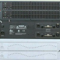 equalizer / equaliser dbx 1231 / dbx-1231