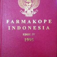 FARMAKOPE INDONESIA EDISI IV 1995