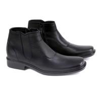 sepatu boot pria / sepatu kerja pantofel kulit /sepatu formal pria grc