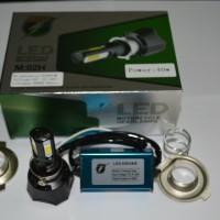 harga LED Motor / MOBIL 4sisi Bohlam LAMPU UTAMA M02H DC ASLI RTD UNIVERSAL Tokopedia.com