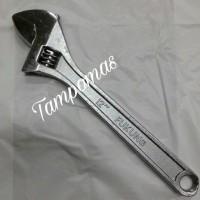"""Kunci Inggris 12"""" Adjustable Wrench 12 Inch Kunci Inggris Murah"""