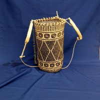 Jual Tas punggung asli kulit rotan khas dayak Murah