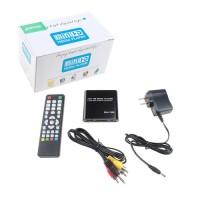 Black Mini Full HD 1080P Digital Media Player-MKV/RM-SD/USB HDD-HDMI