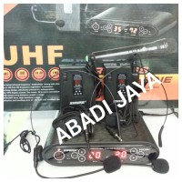 harga Mic shure pgx 288u (2bh clip on+ 2bh headset) Tokopedia.com