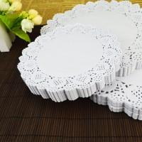 Jual kertas doyleys tatakan toples packing snace kue kering paper craft new Murah