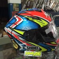 Helm shoei x12 Daijiro Kato / Helm full face / helm racing