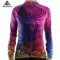 Baju Sepeda Perempuan Racmmer Seri 05 Lengan Panjang WANITA (INDEN)