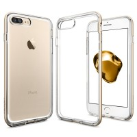 Spigen Iphone 7 Plus Case Neo Hybrid Crystal Champagne Gold (043CS2053