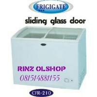 harga FRIGIGATE FREEZER SLIDING GLASS DOOR CRF-210 / KULKAS PEMBEKU MURAH Tokopedia.com