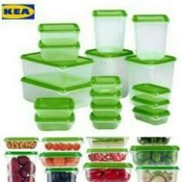 Jual IKEA PRUTA set 17pcs Ori/Toples/Tempat penyimpanan makanan Murah