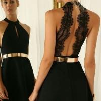 Jual gold belt / plat belt / ban pinggang wanita plat emas 2cm Murah