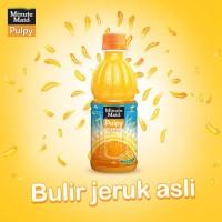 PULPY ORANGE Botol Minute Maid Makanan Minuman Kesehatan Makan Minum .